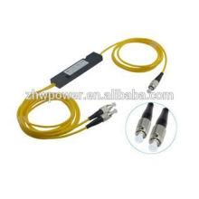 Mini ABS/Cassette/taper box type FBT splitter,1 2 1x2 1*2 FC UPC/PC optic splitter,single mode 1.5meter