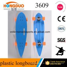El patín plástico barato de la venta caliente longboards los monopatines para el mejor precio