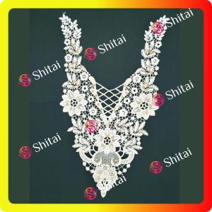 Embroidery Collar 3D Lace fabric Women