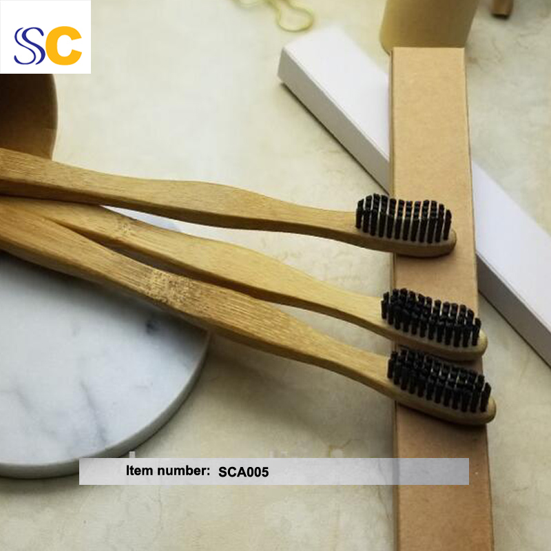 Bamboo Charcoal Toothbrush A005 4