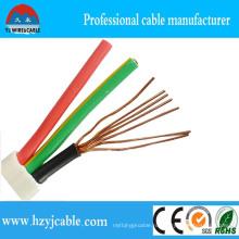 BVVB ПВХ изоляцией и оболочкой 3core плоский кабель