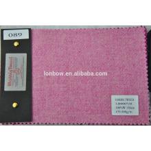 tela de tweed rosa