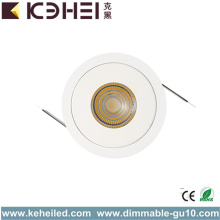 7W 4000K LED Spotlight Hotellbelysning 80Ra
