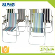 Chaise de plage pliante à ressort en métal plier la chaise (SP-131)