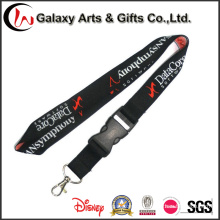 Cordones bordados poliéster Jacquard personalizados para Badage / ID