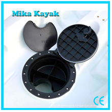 8 Inch Plastic Gear Bucket Fishing Bait Box Kayak Accessories