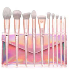 Professional 10pcs 2020 New Style Private Label Vegan Makeup Brushes Makeup Brush Set