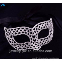Magnifique masque de masque de strass masque, masque de mode mascarade