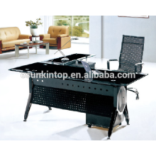 Glass top executive desk designs , Office furniture for high quality to go! (P8035)