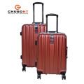 High Qualilty Fashion PC 4 Wheels Case Aluminium Travel Luggage Bag