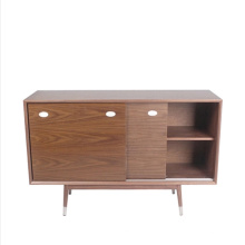 Wooden Furniture Classical Living Room Sideboard with Solid Wood Leg