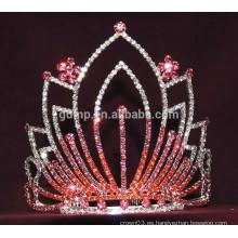Corona colorida de la tiara de la flor