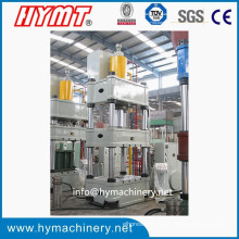 YQ32-400 de cuatro colores máquina de prensa de estampado hidráulico / acero al carbono máquina de forja