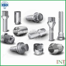 Mecánica de alta precisión de piezas tornillos metálicos customed no estándar del acero inoxidable