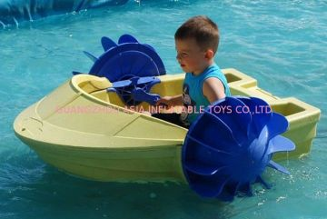 High Density Operate Easily Resistance U.v. Inflatable Paddle Boats For Wading Pool