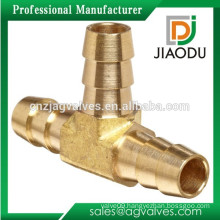 "1/4"" Or 5/16"" 3-way Brass Hose Barb Splicer Fitting Barbed Tee"