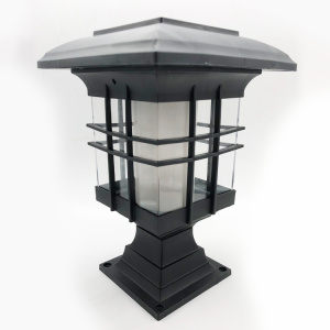 Impermeable Led Solar Street Flame Garden Light