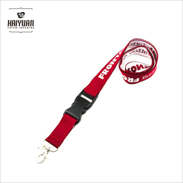 OEM Factory Cheap Jacquard Fabric Woven Lanyard