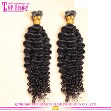 Gros fournisseur usine prix U tip Hair Extensions Top Garde U Astuce cheveux brésiliens