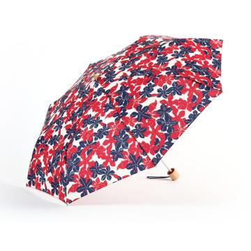Guarda-chuva barato da cópia feita sob encomenda da flor guarda-chuva brilhante da cor