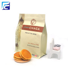 Cà phê Snack Thực phẩm Nhựa Túi đáy phẳng