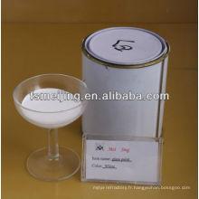 peinture acrylique blanche msds pour le verre