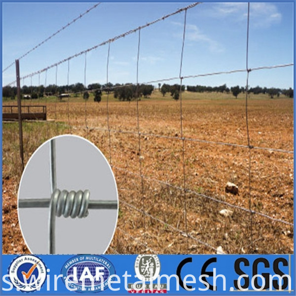 1.2m High Galvanized Cattle Fence product picture