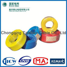 Professional Cable Factory Power Supply pvc coated electric building wire