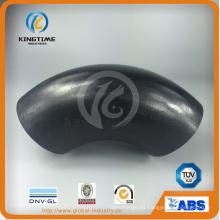 Accesorio de tubería soldado a tope de codo de acero al carbono ASME B16.9 (KT0287)