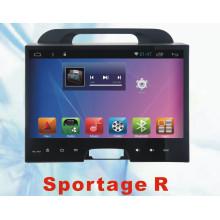 Автомобильный GPS-навигатор для KIA Sportage 2011 с автомобильным DVD-плеером