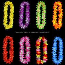 Рекламное красочное цветочное ожерелье