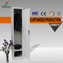 Factory direct sale compact stuff used single door metal cabinets clothes locker