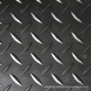 Diamond Type Pattern Anti Slip Rubber Sheet Rubber Flooring Mat
