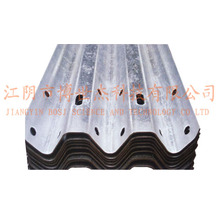 Steel Thire Waves Highway Guardrail Roll formant la ligne de production de la machine en Russie