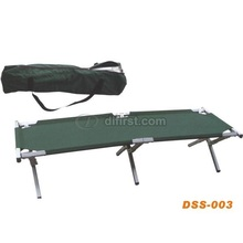 Lightweight Alumium Single Bed for Camping, Beach Bed