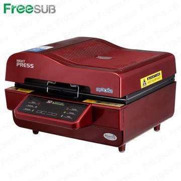 FREESUB máquina de la prensa del calor de la sublimación hace una caja del teléfono