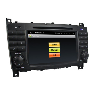7.1 System for Benz C-Class W203 Car dvd player