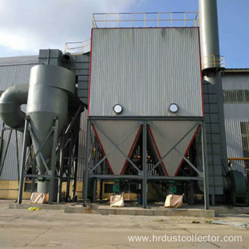 High temperature glass fiber bag type dust collector