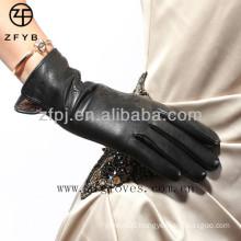Beautiful crafted super soft lamb skin gloves