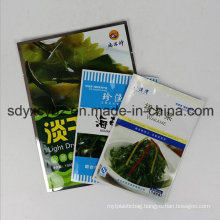 Size Customized Flat Plastic Packaging Bag for Daily Food with SGS Approved