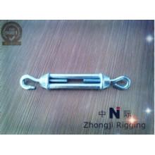 Spannschloss DIN1480 sind aus hochwertigem elektrogalvanisiertem Stahl gefertigt.