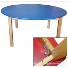 Mesa redonda de madera para niños El certificado de la En 1729-1 y En 1729-2