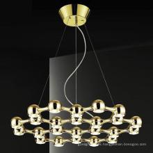 Latón colgante luces LED (AD10075-24)