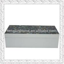 Boîte à bijoux acrylique en coquille