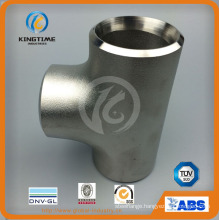 ASME B16.9 Pipe Fittings Stainless Steel Wp316/316L Equal Tee (KT0295)