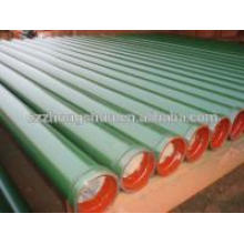 Concrete pump pipe,pump line tube 2014 Hot sale Concrete pump st52 seamless steel pipe