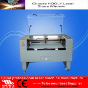 Latest Laser Cutter Engraver CO2 Fire Burn High Speed Cloth Leather Fur Cutting Machine (HL-1610C)