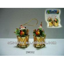 Tambor de decorações de natal