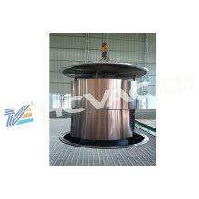 Machine de revêtement de couleur de vide d'acier inoxydable de PVD, placage de PVD