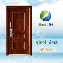 China mais recente desenvolver e projetar porta de segurança de aço simples (FD-923)